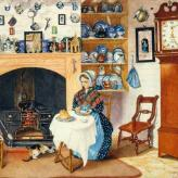Cottage Interior, Compton Basset