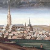 Panoramic view of Salisbury from the North East