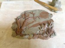 Summer Discovery Day: Layered Landscape Tiles and Pots with Sarah Holtby